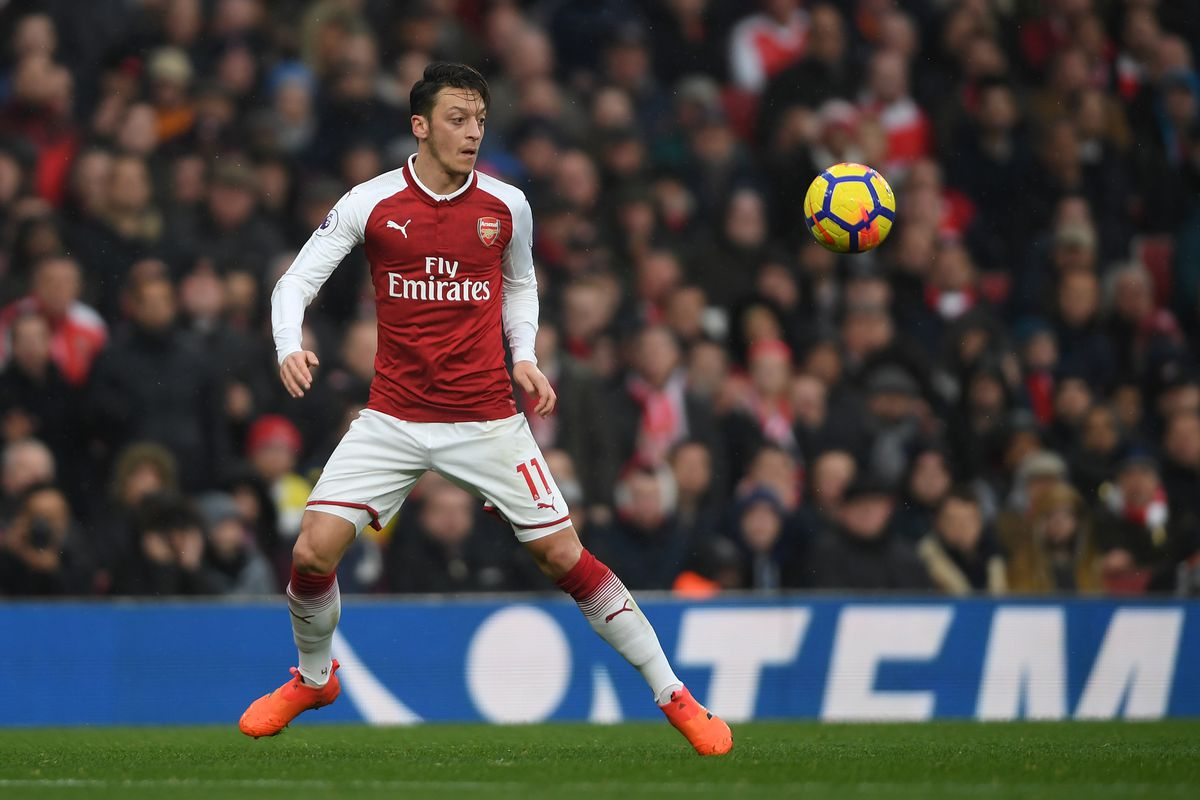 Mesut Ozil 'ill' for Burnley clash as Alexandre Lacazette leads Arsenal line