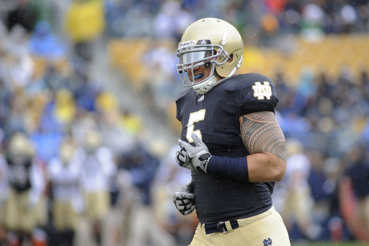 Manti Te'o was a second-round pick in 2013.
