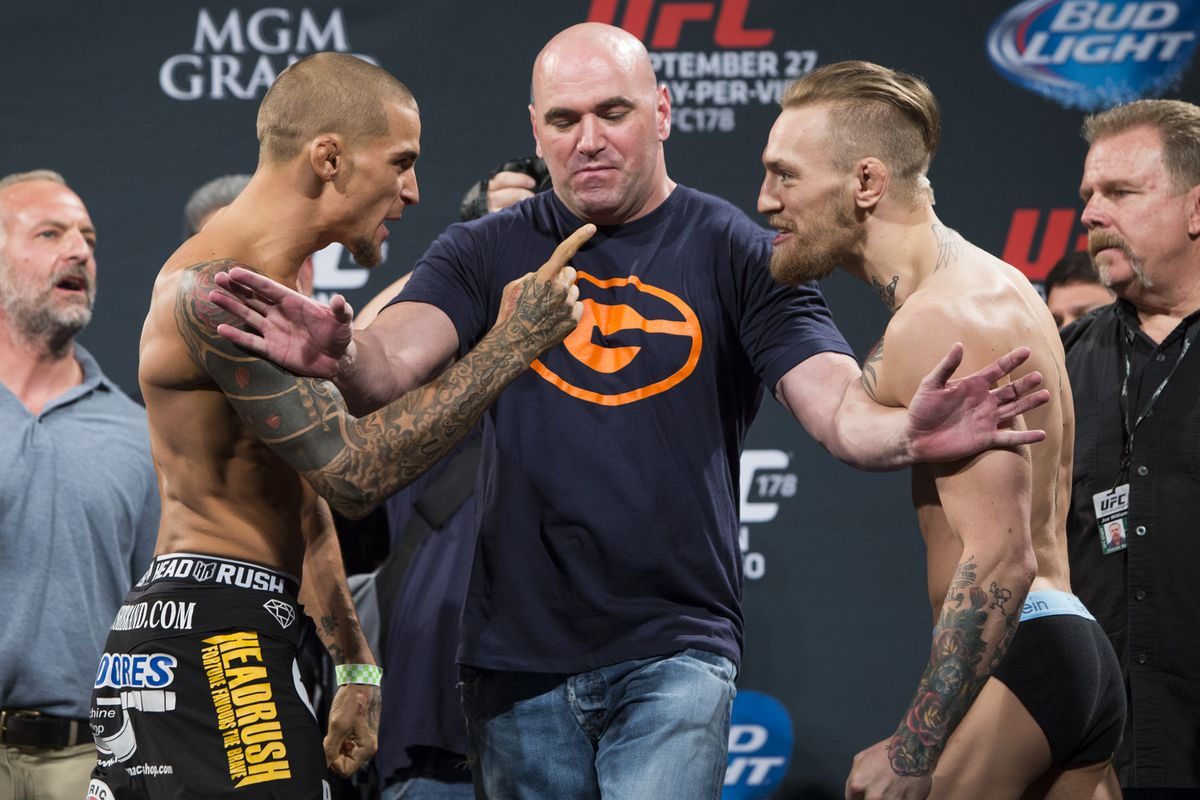 Image result for poirier conor mcgregor stare down