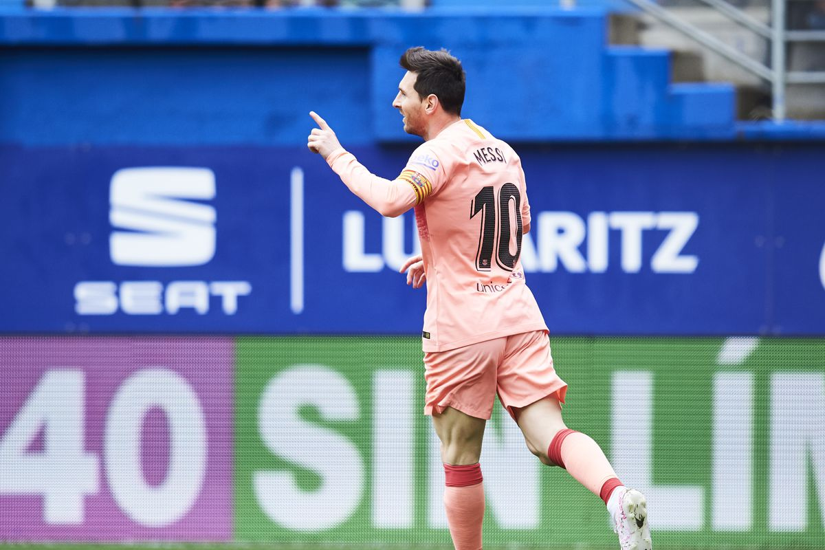 Messi scores his 50th Barca goal of the season, claims sixth Pichichi