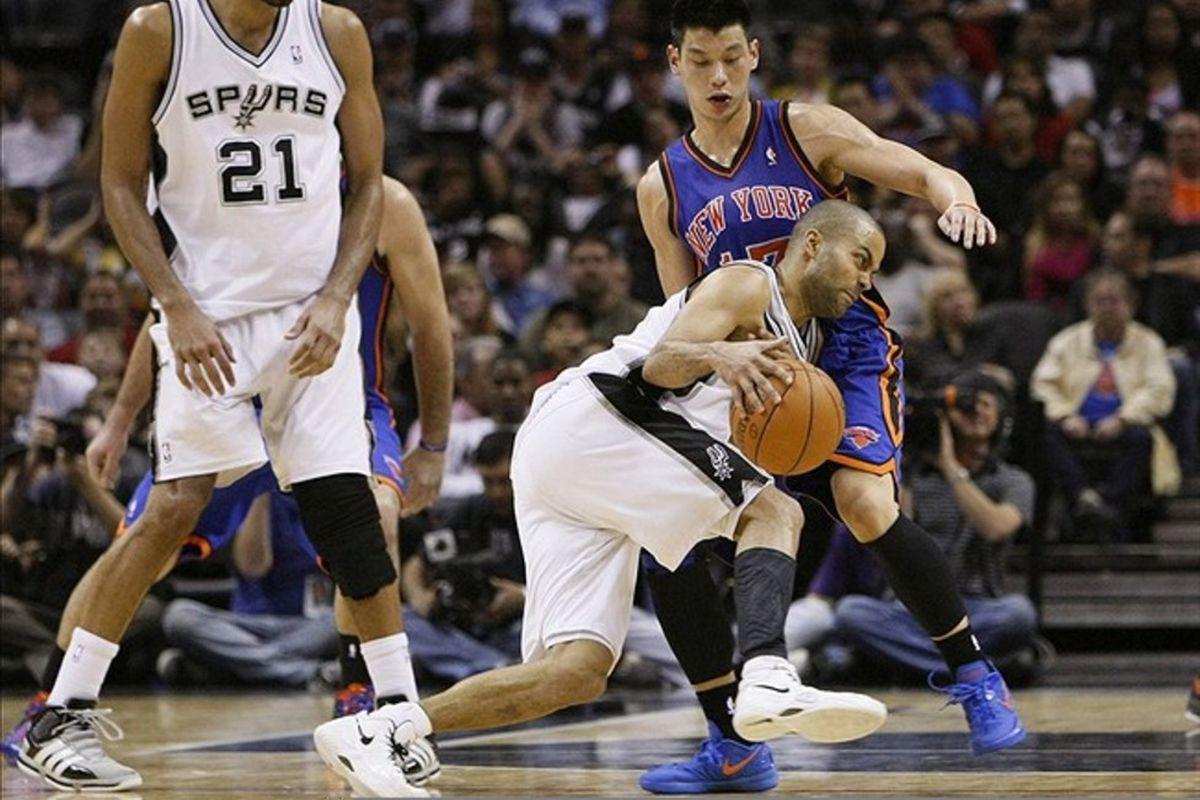 Spurs Vs Knicks Detail: Knicks Vs. Spurs: Tony Parker Devours Short-Handed New