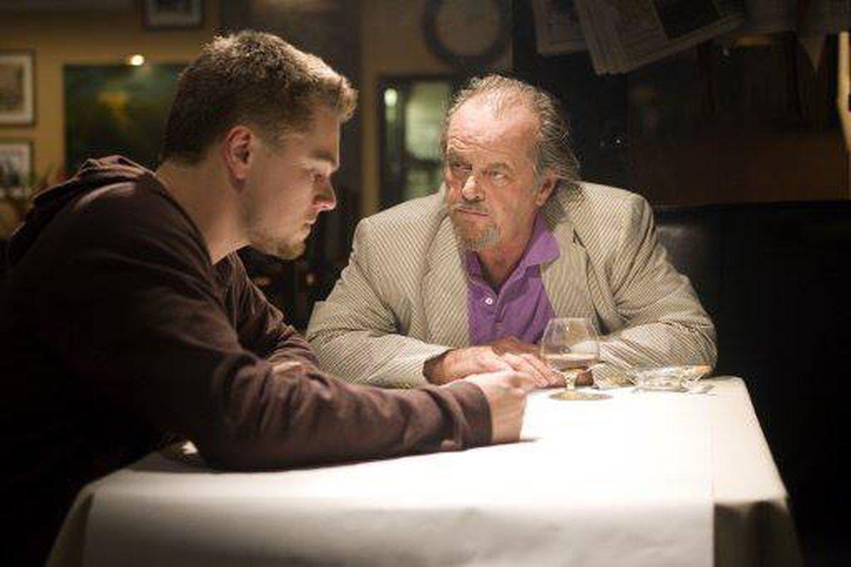 Matt Damon and Jack Nicholson in 'The Departed'