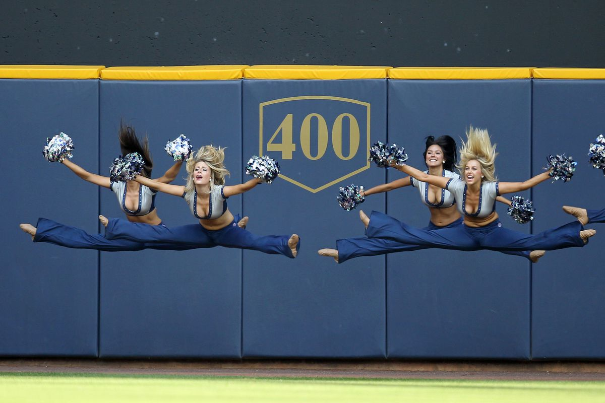 Hopefully the Brewers can give us something to cheer about.