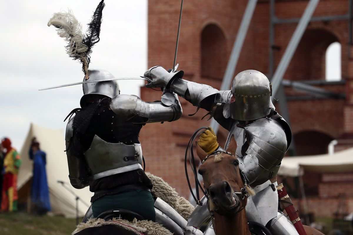 Medieval festival in Belarus