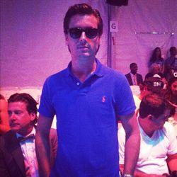 Scott Disick wears his sunglasses at night