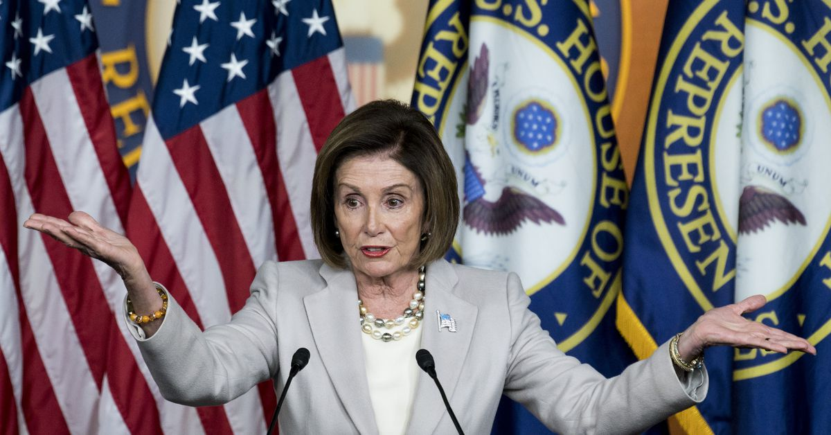 Speaker Nancy Pelosi shuts down Senate Republicans' impeachment timeline - Vox