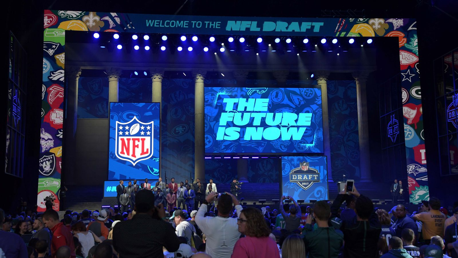All the Bills' trade options with number 9 overall