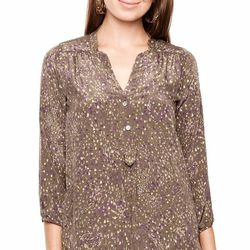 """Amy blouse, green dots; was $167 now <a href=""""http://www.amourvert.com/amy-blouse-green-dots/"""">$117</a>"""