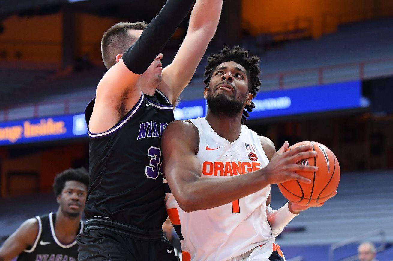NCAA Basketball: Niagara at Syracuse