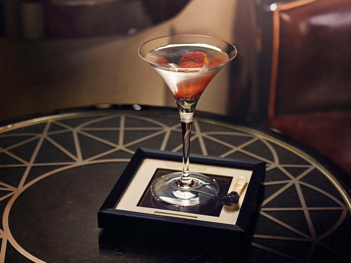 One of London's best martinis at The Savoy Hotel's American Bar