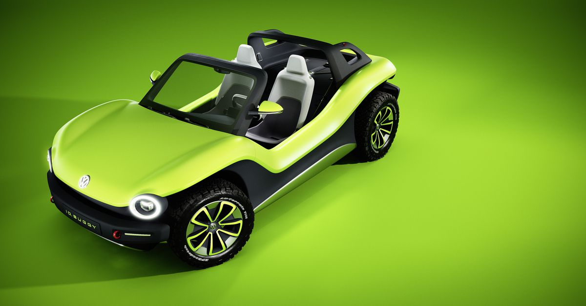 Vw Dune Buggy >> VW's electric dune buggy crams futuristic tech into a retro package - The Verge