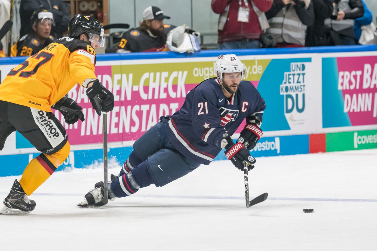 USA Olympic roster announced & quotes from Jonathan Blum