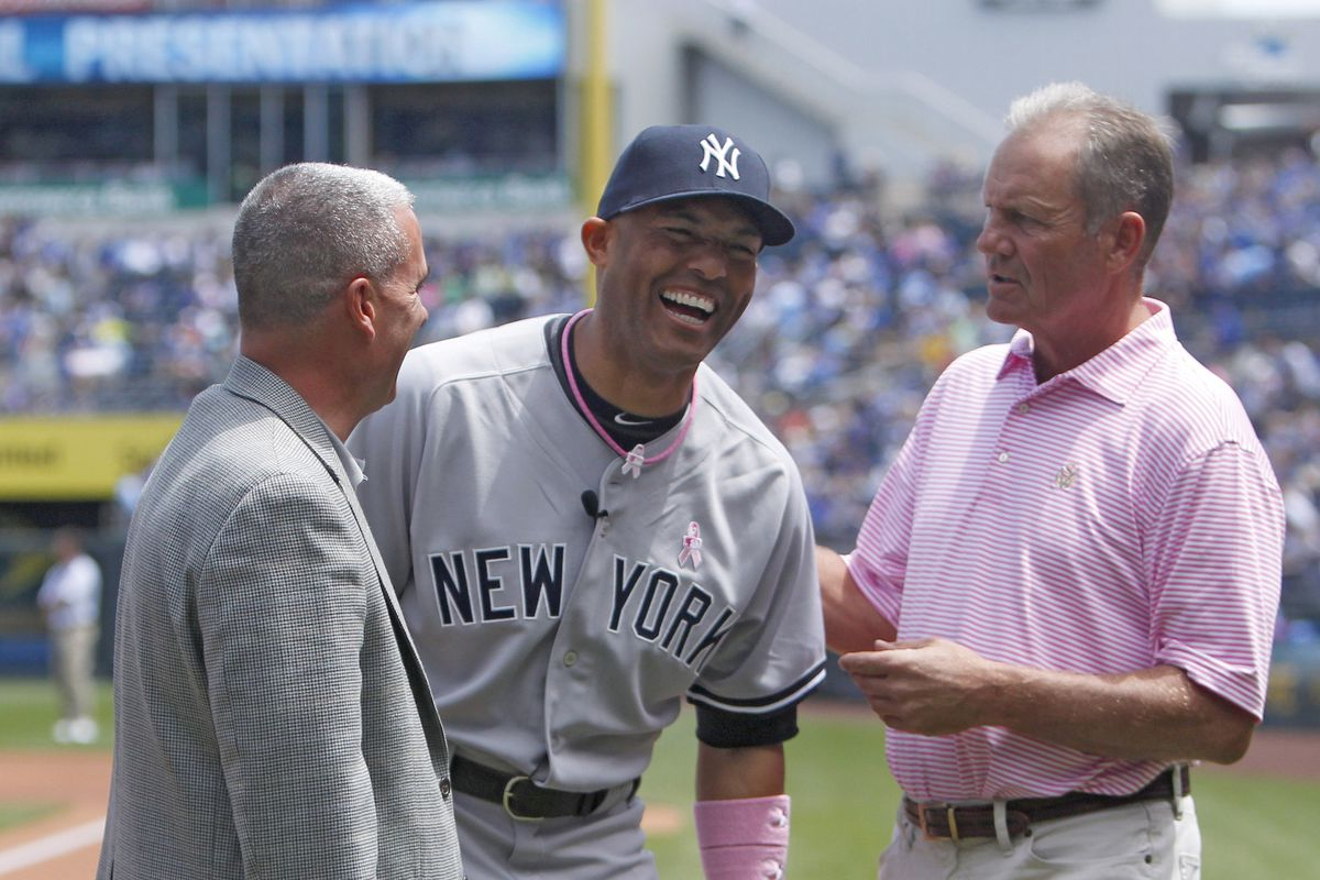 Rivera laughs at how much of a joke the Royals are right now.