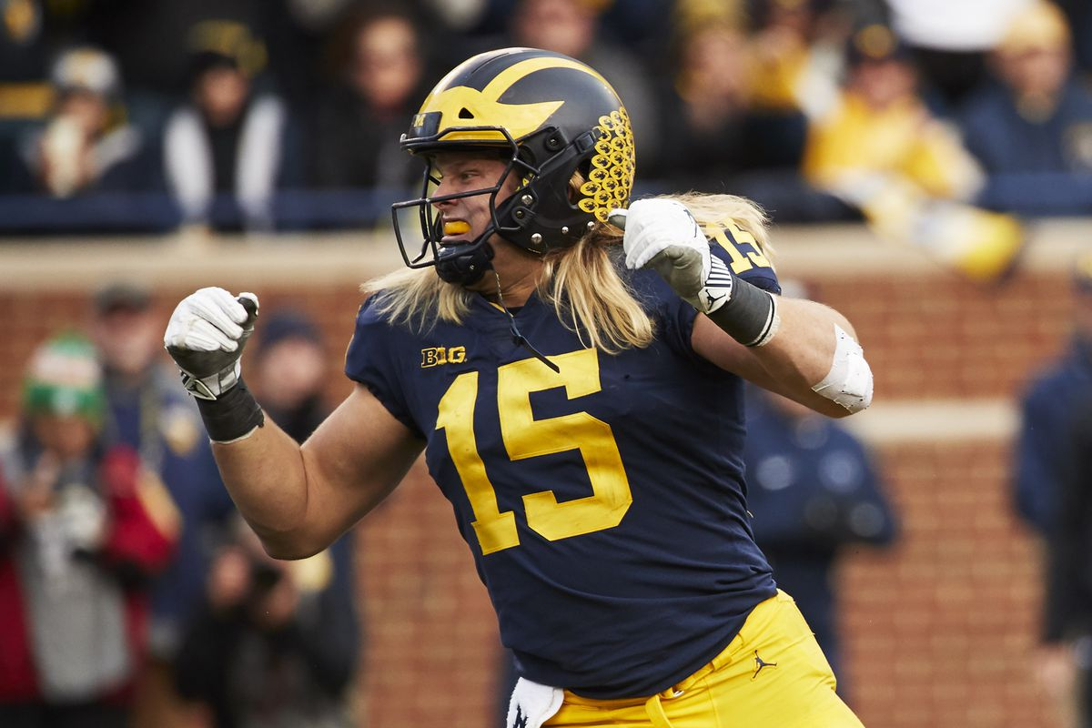 Steelers met with Michigan pass rusher Chase Winovich at NFL Scouting  Combine ac0e67a4a