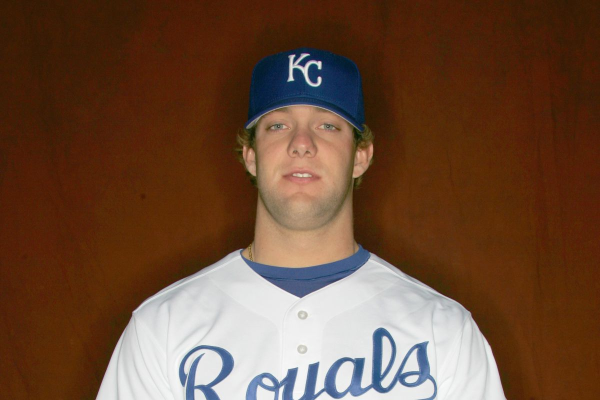 Young Alex Gordon from the 2006 Kansas City Royals Photo Day