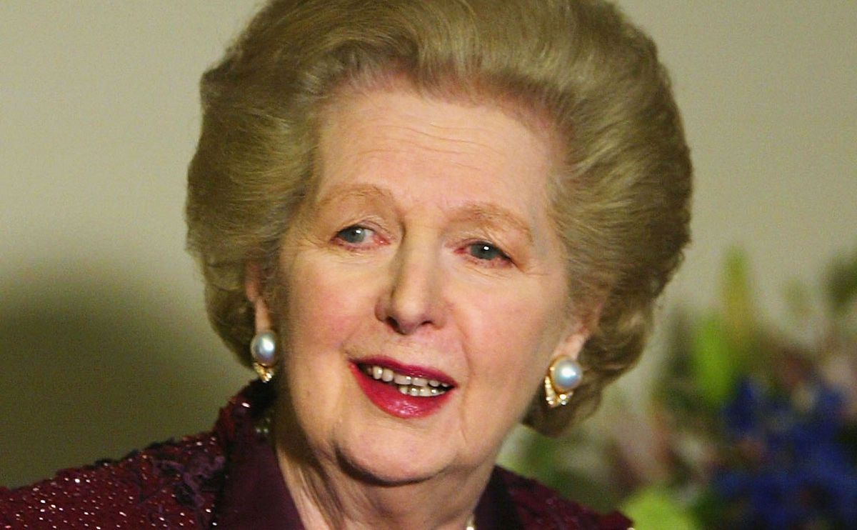 Margaret Thatchers 25th Anniversary Dinner
