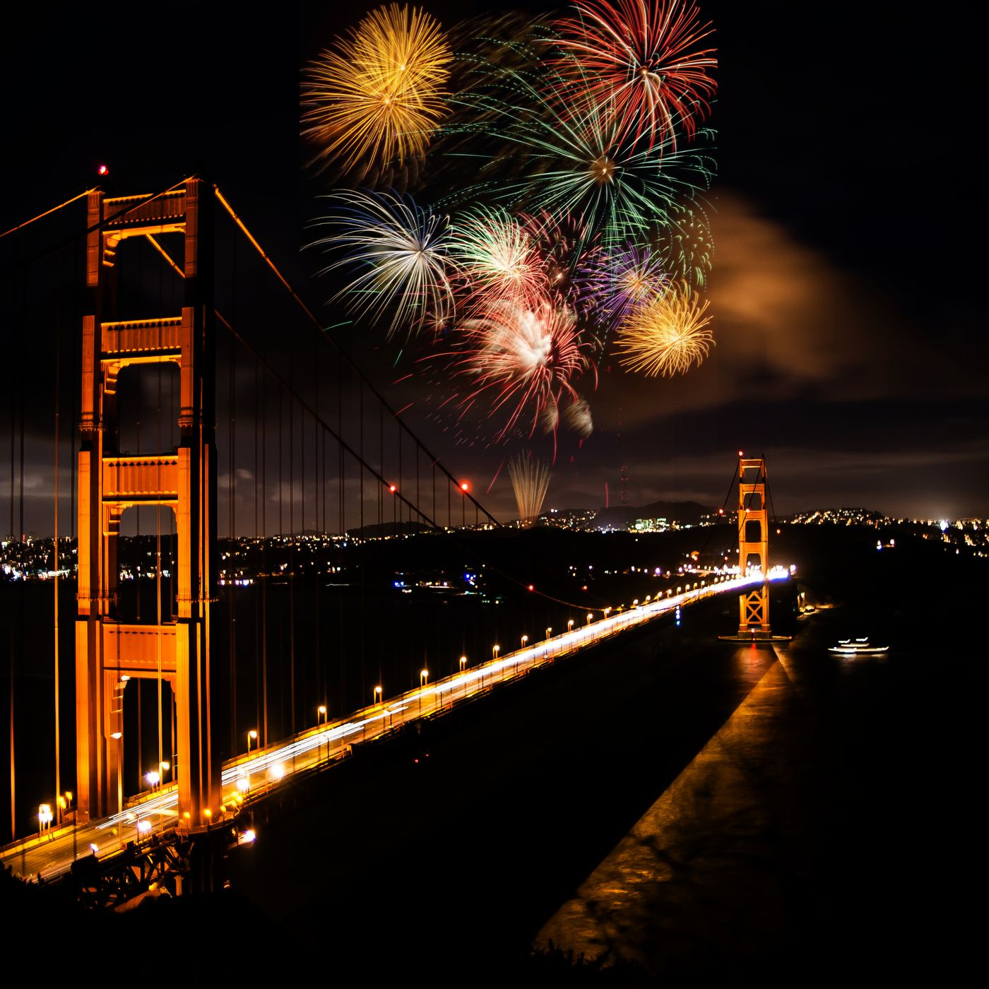Bay Area July 4th Fireworks