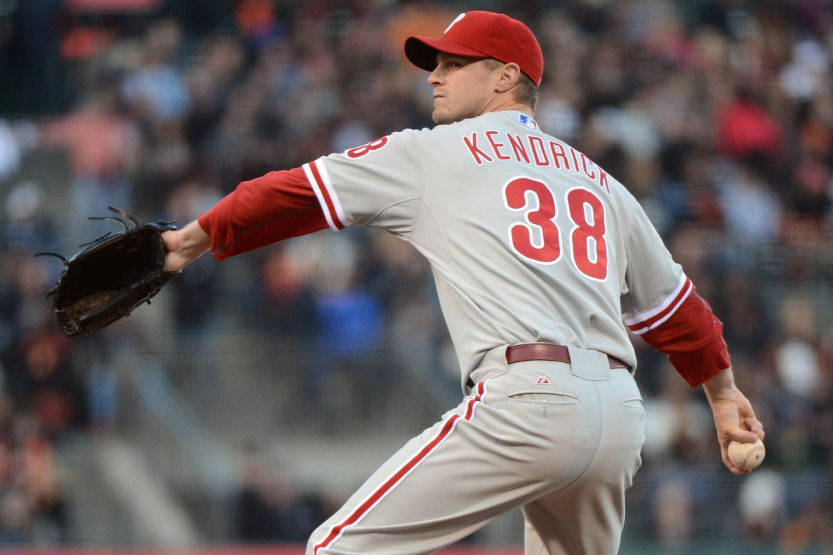 Kyle Kendrick might be the exception that proves the well hit average rule.
