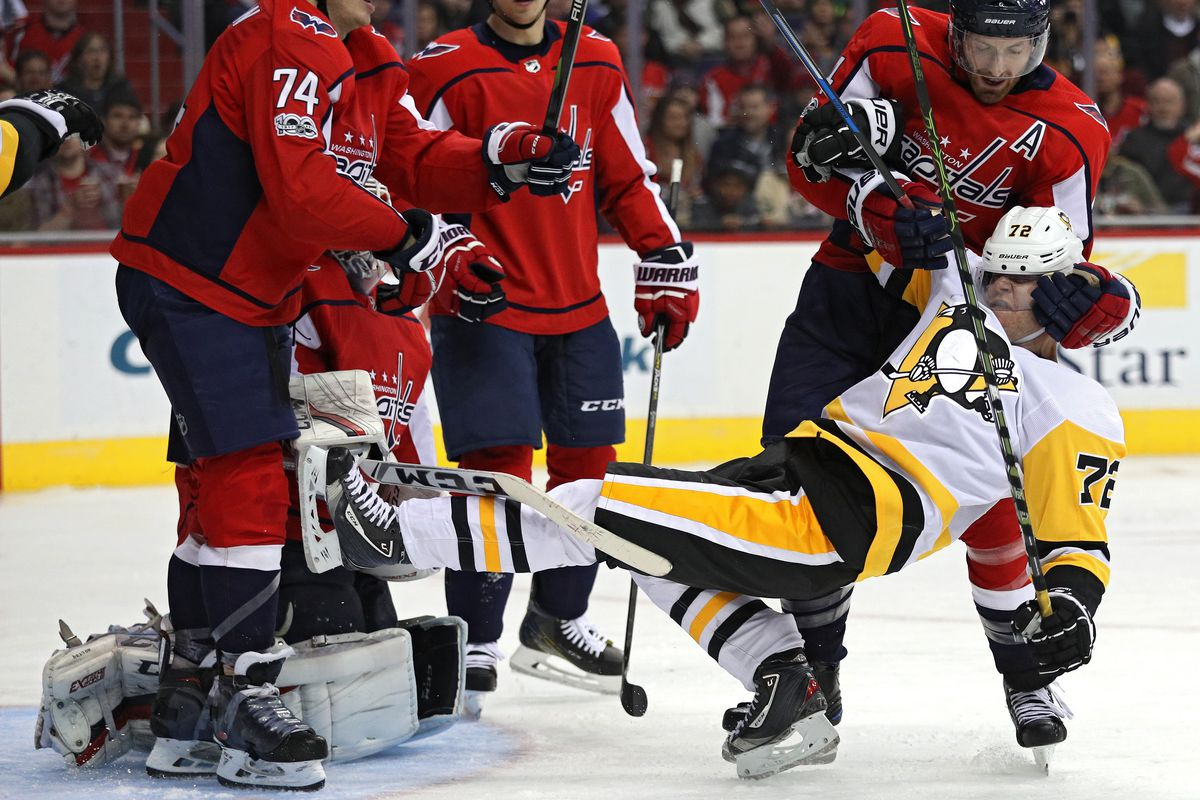 Capitals-Penguins  By the Numbers - Japers  Rink bc434db7d47