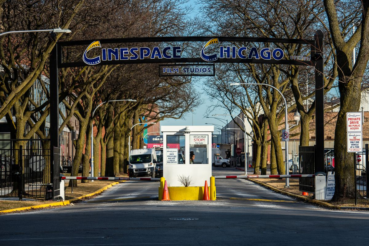 Former Mayor Rahm Emanuel helped Cinespace Chicago Film Studios, 2621 W. 15th Pl., get a property tax cut worth as much as $3.4 million. He also gave the studio permission to close off and take over city streets to create a bigger Cinespace campus, forcing traffic, including CTA buses, to be rerouted.