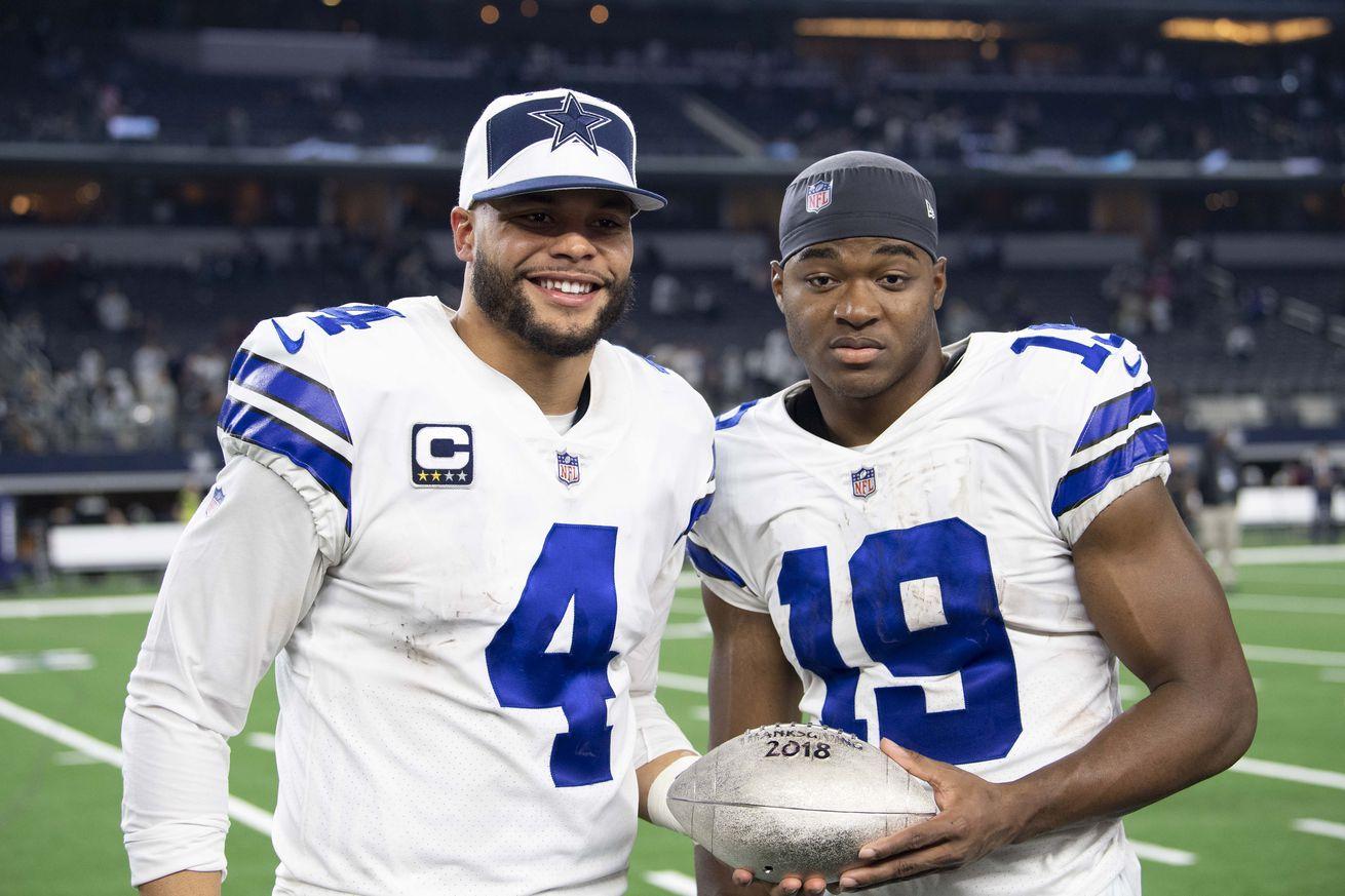 """Stephen Jones: Cowboys have """"active"""" contract talks going on with Dak Prescott and Amari Cooper"""
