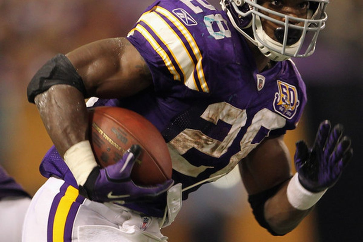 Where to pick Adrian Peterson in your fantasy draft?