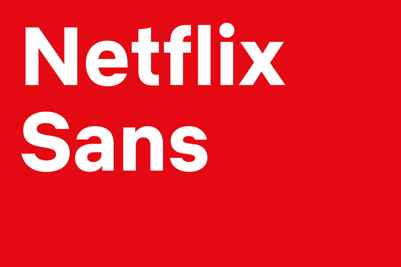 netflix has its own custom font now just like apple samsung and google