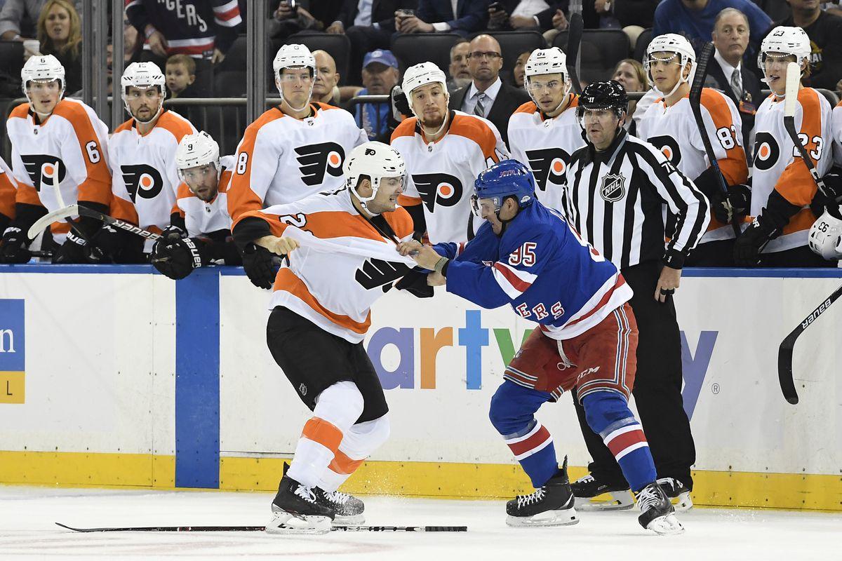 NHL: Preseason-Philadelphia Flyers at New York Rangers