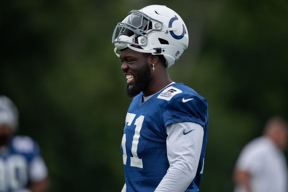 NFL: JUL 31 Indianapolis Colts Training Camp