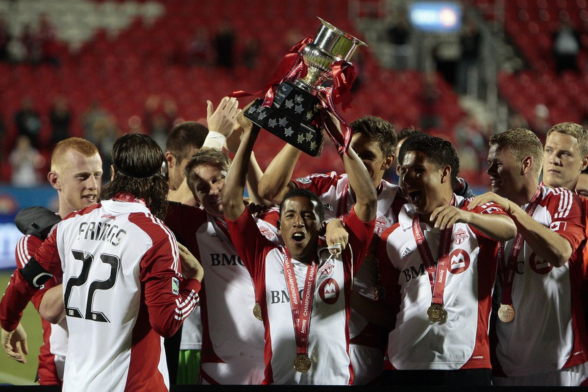 Last night TFC not only won a sweet trophy they also became the 21st team in the upcoming CCL.