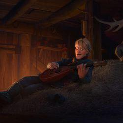 """Kristoff, left, and Sven in """"Frozen."""""""