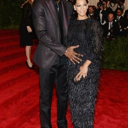 Fashion's favorite basketball player Amar'e Stoudemire in Calvin Klein with Alexis Stoudemire