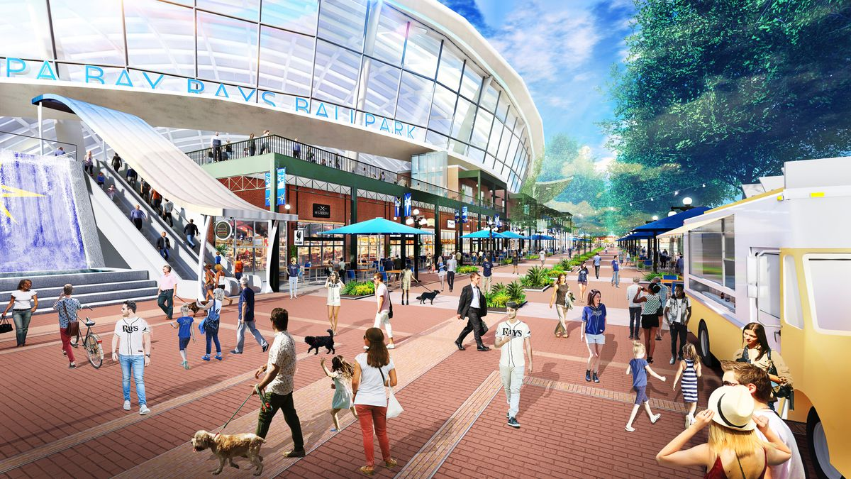 Tampa Bay Rays stadium design images released - DRaysBay