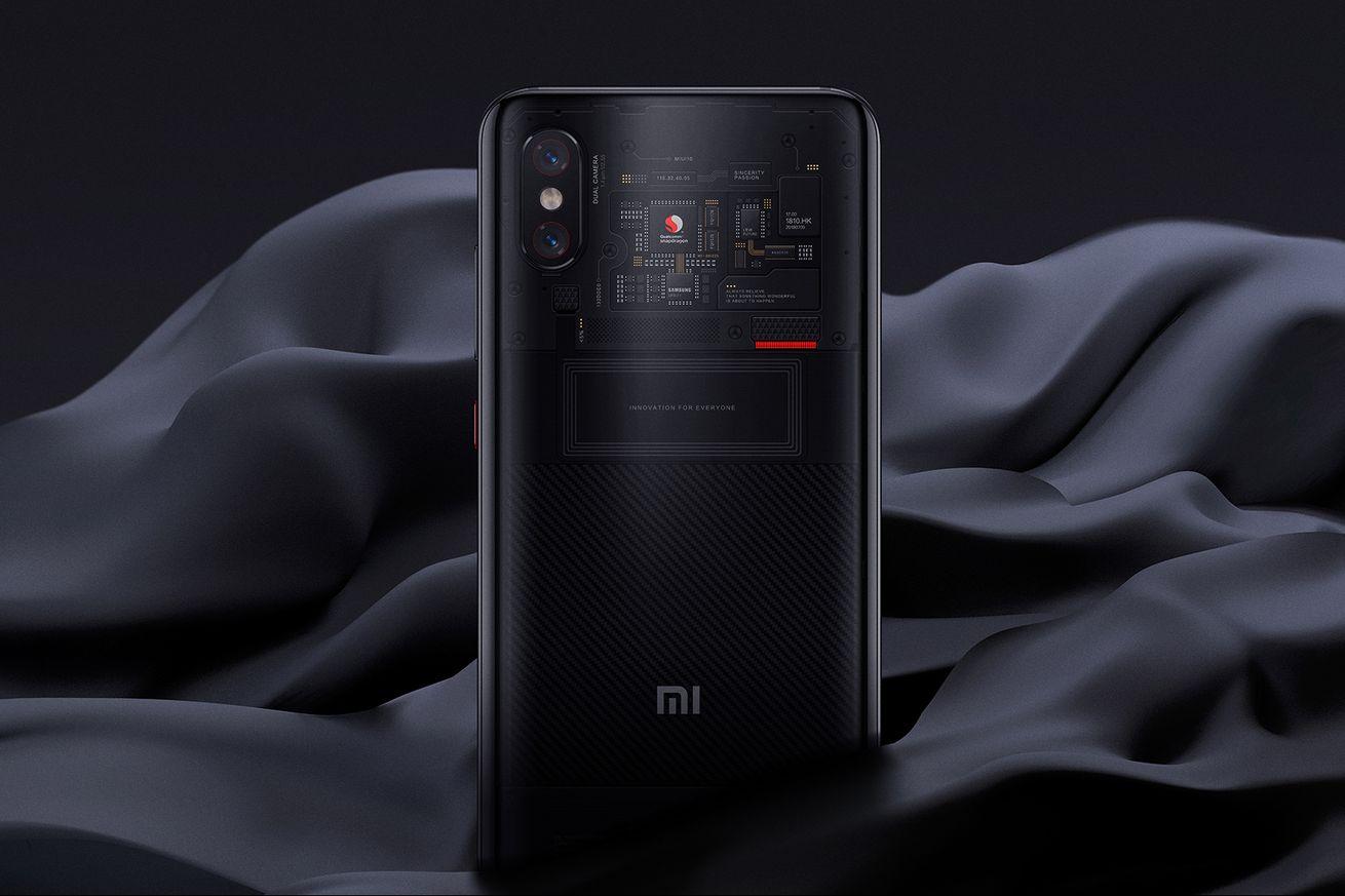 <em>Xiaomi Mi 8 Pro.</em>