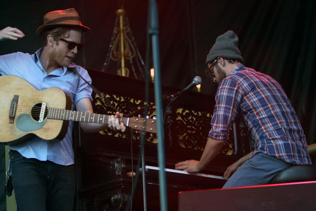 The Lumineers at Grant Park playing Lollapalooza in 2013.