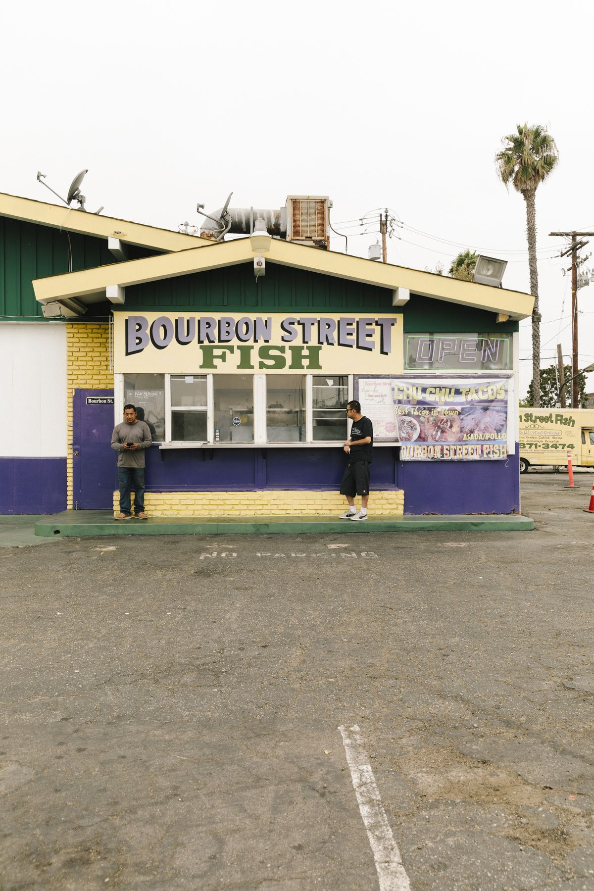 Bourbon Street Fish in Inglewood, California