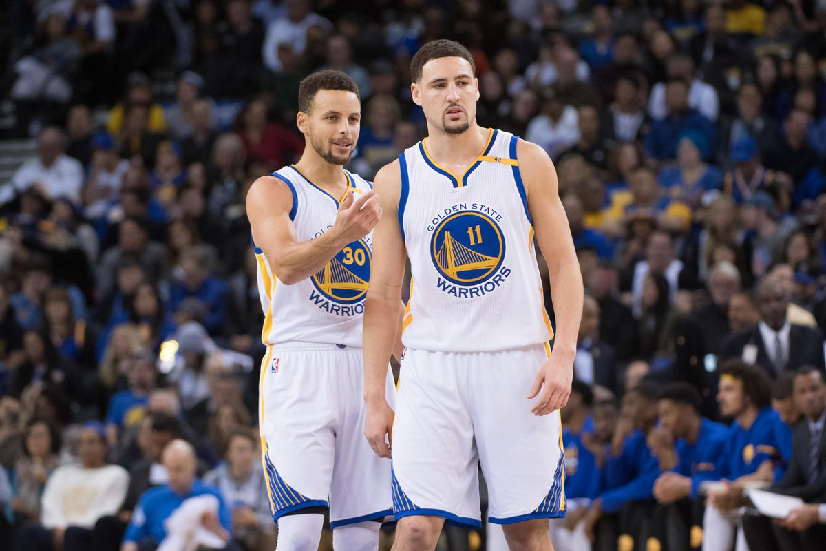 Image result for klay thompson stephen curry