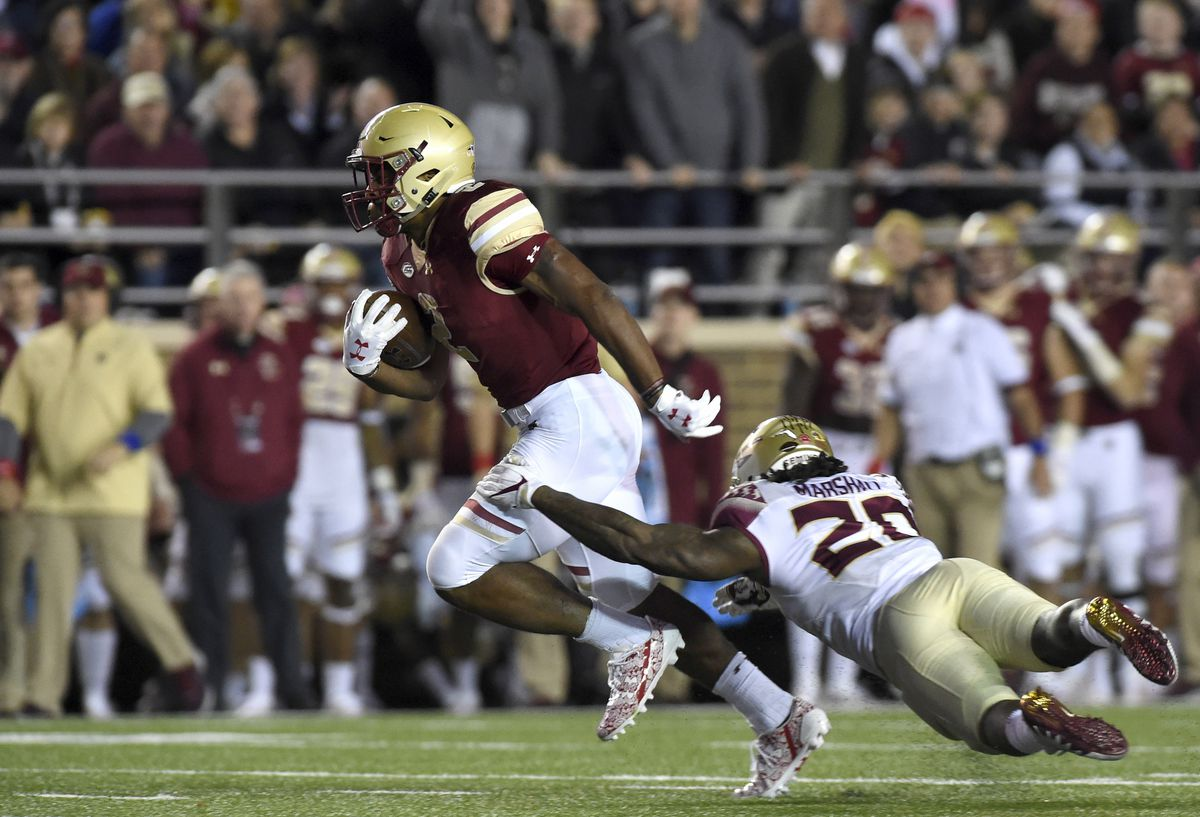 NCAA Football: Florida State at Boston College