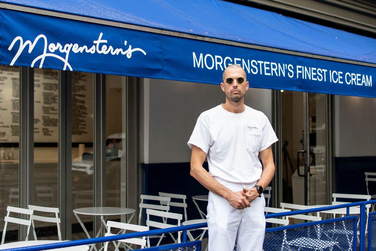 Nick Morgenstern of Morgernstern's ice cream nyc