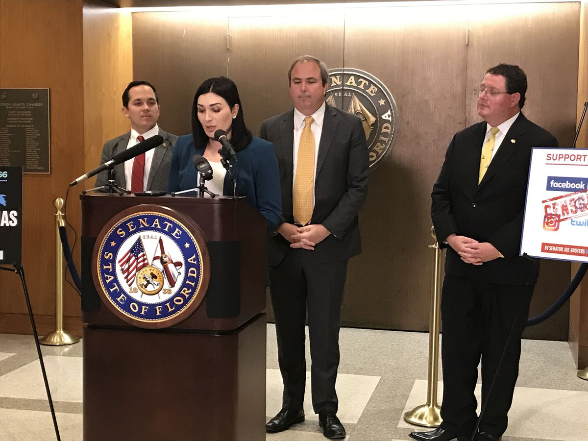 Laura Loomer, self-described most banned woman by social media, finds a platform with Florida GOP chairman