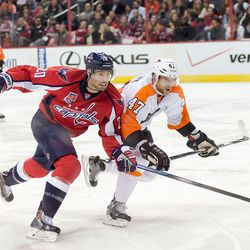 Brouwer and MacDonald Battle For Position