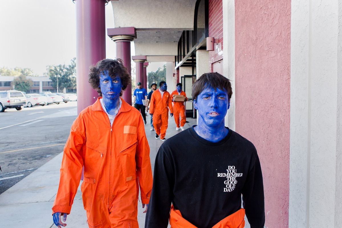 The Art And Raw Boy Energy Is With Band Brockhampton Reinventing Diy BPEqxwpw