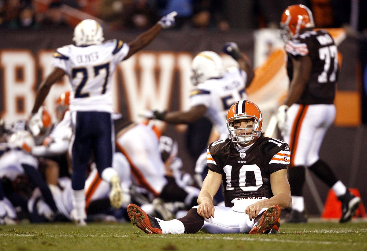 San Diego Chargers v Cleveland Browns