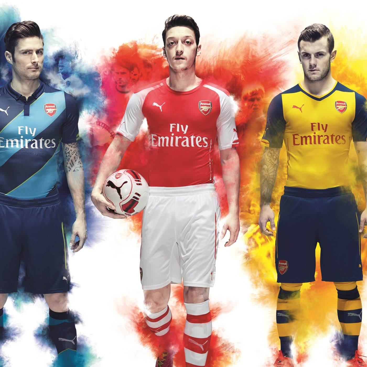 6205430c9 Arsenal s 2014 15 away kit recalls Invincibles