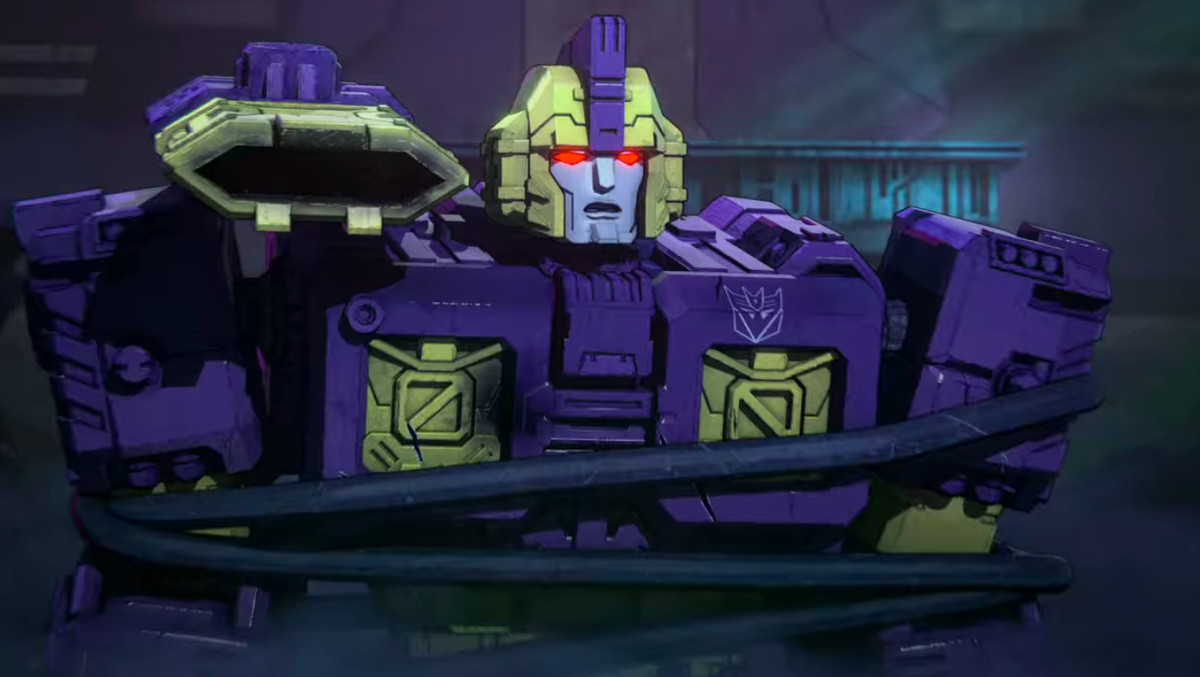 Impactor all tied up on Transformers: War for Cybertron