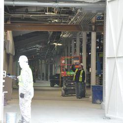 A look inside Gate K on Waveland -