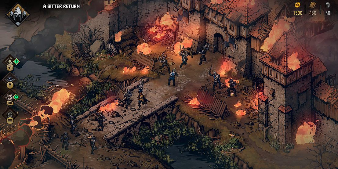 Thronebreaker: The Witcher Tales impressions: transforming Gwent