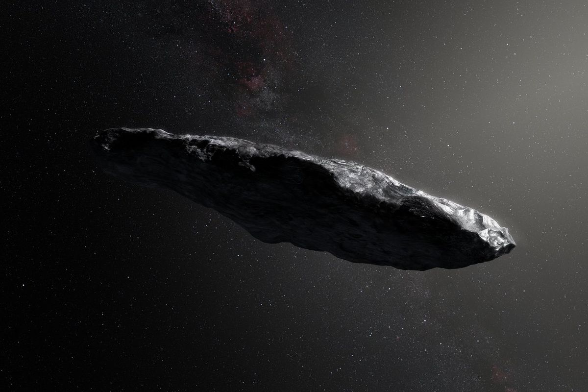 The first asteroid we've seen from outside our Solar System
