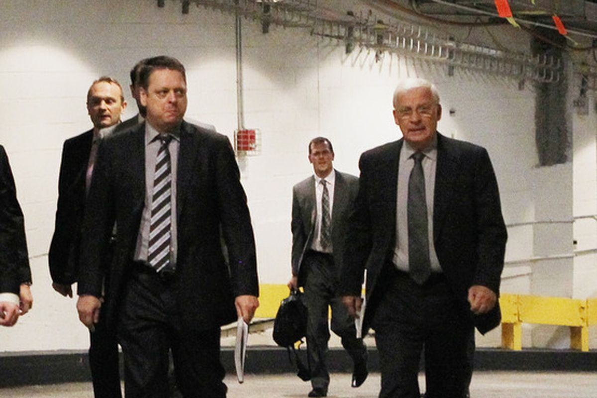 Could this angry man be the next GM of the Senators?