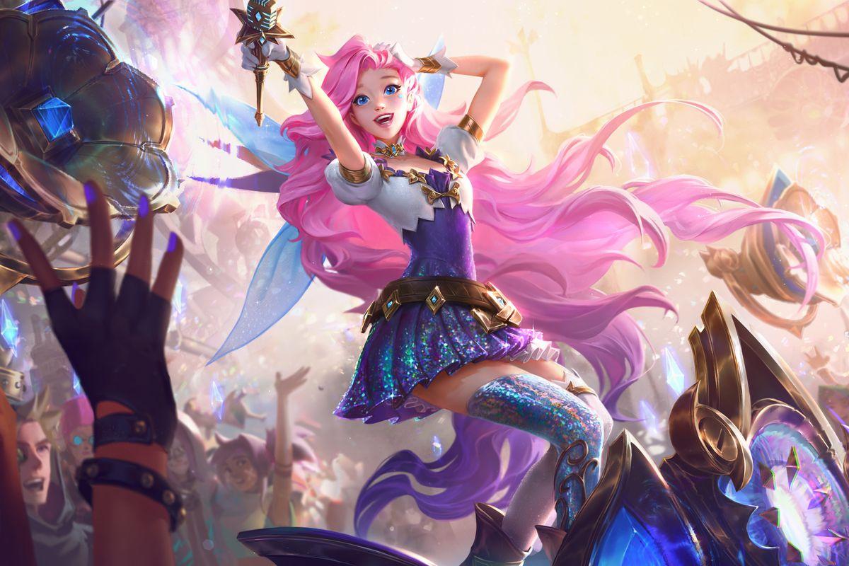 League of Legends' pop star champion Seraphine